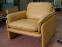 כורסא מרופדת מחדש